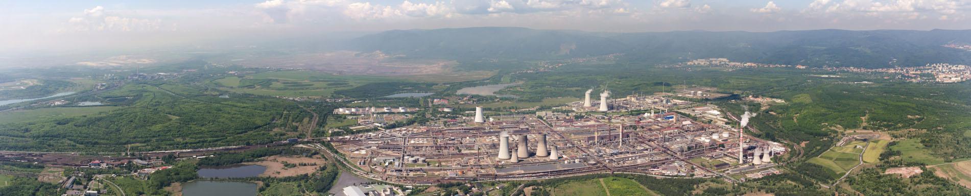 Panorama společnosti Unipetrol